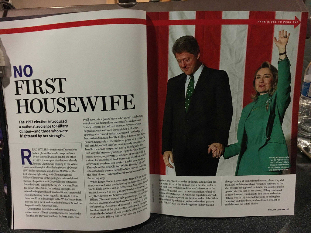 "LEAKED: A look at Newsweek's recalled Hillary Clinton ""MADAM PRESIDENT"" issue 12"