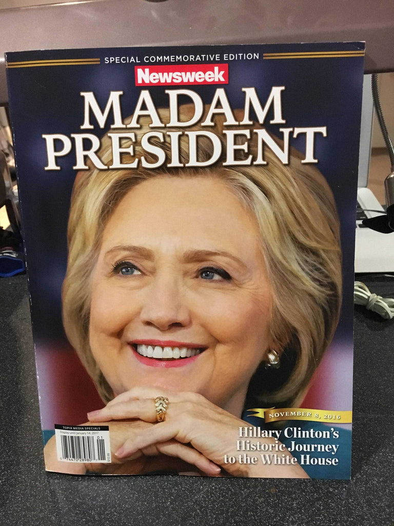 "LEAKED: A look at Newsweek's recalled Hillary Clinton ""MADAM PRESIDENT"" issue 1"