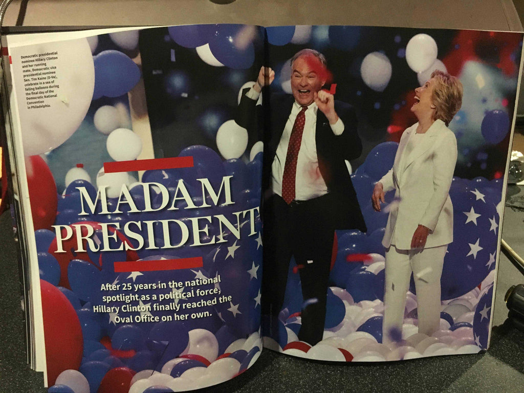 "LEAKED: A look at Newsweek's recalled Hillary Clinton ""MADAM PRESIDENT"" issue 3"
