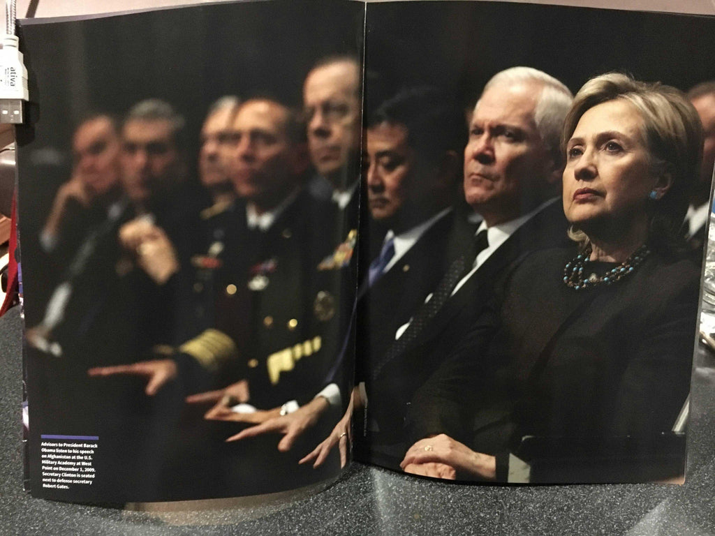 "LEAKED: A look at Newsweek's recalled Hillary Clinton ""MADAM PRESIDENT"" issue 5"