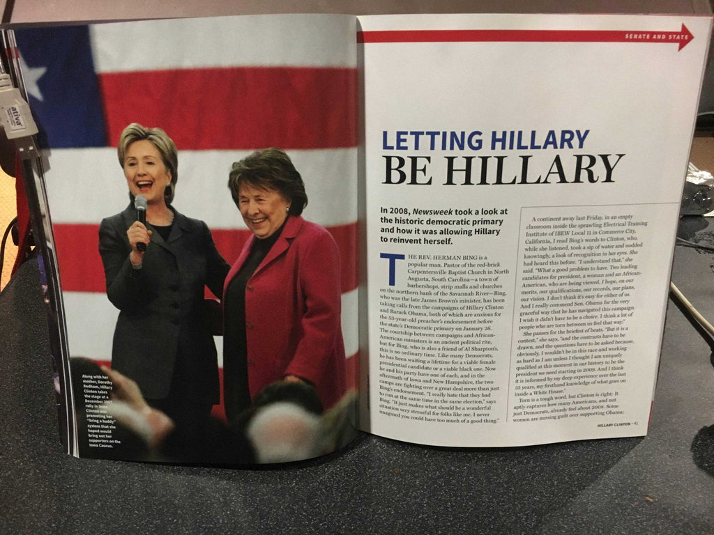 "LEAKED: A look at Newsweek's recalled Hillary Clinton ""MADAM PRESIDENT"" issue 6"