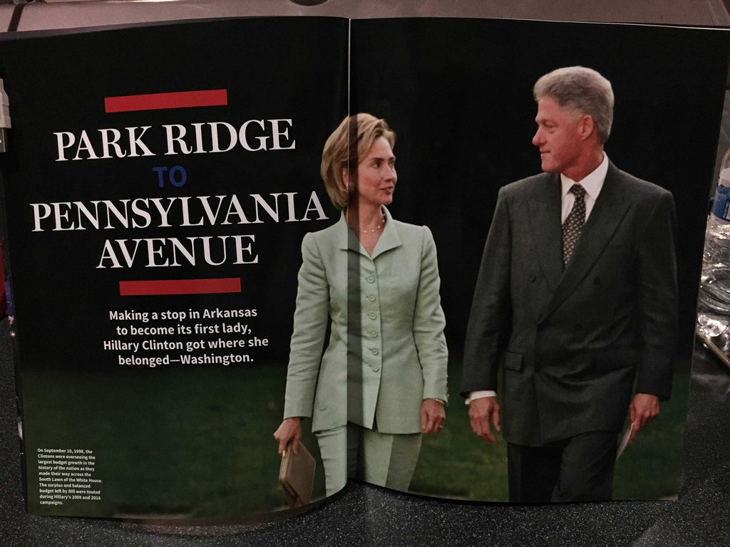 "LEAKED: A look at Newsweek's recalled Hillary Clinton ""MADAM PRESIDENT"" issue 7"
