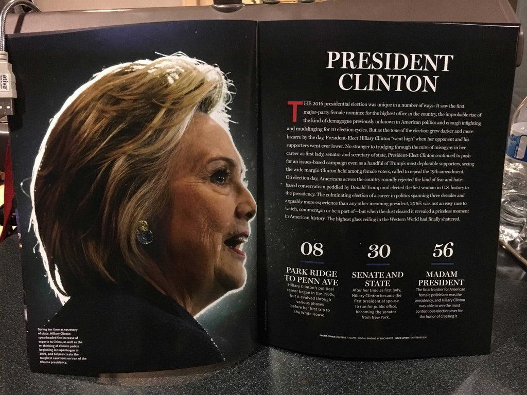"LEAKED: A look at Newsweek's recalled Hillary Clinton ""MADAM PRESIDENT"" issue 8"