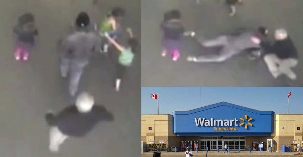 VIDEO: Man Tackled For Legally Carrying A Concealed Gun At Walmart