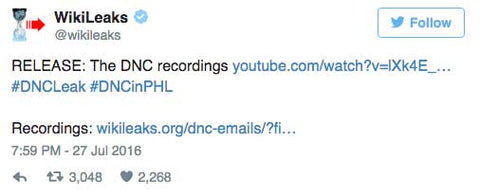 WikiLeaks DOWNLOAD: Listen to the leaked DNC recordings here