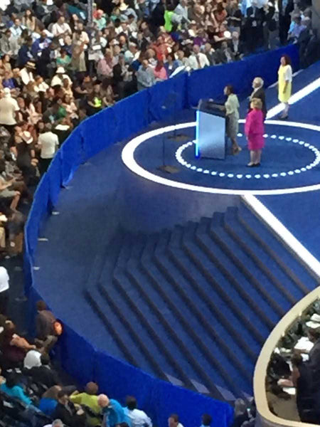 PHOTO: The DNC Actually Built A Wall Around Their Podium In Philadelphia #DNCLeaks