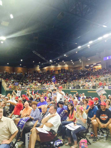 Media Caught Red Handed Lying About Crowd Size Of Trump's Rally