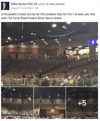 PROOF: Media Caught Red Handed Lying About Crowd Size Of Trump's Rally?