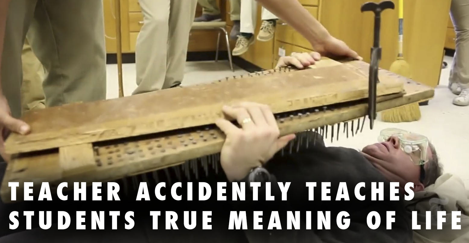 Physics Teacher Accidently Teaches Students The True Meaning Of Life - Jeff Wright