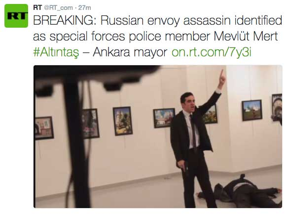 Image result for Murder of Russian ambassador