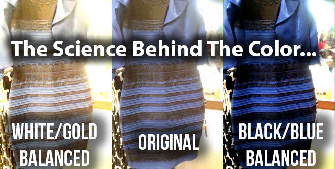 The Science Behind The Color... Why No One Can Agree About This Dress