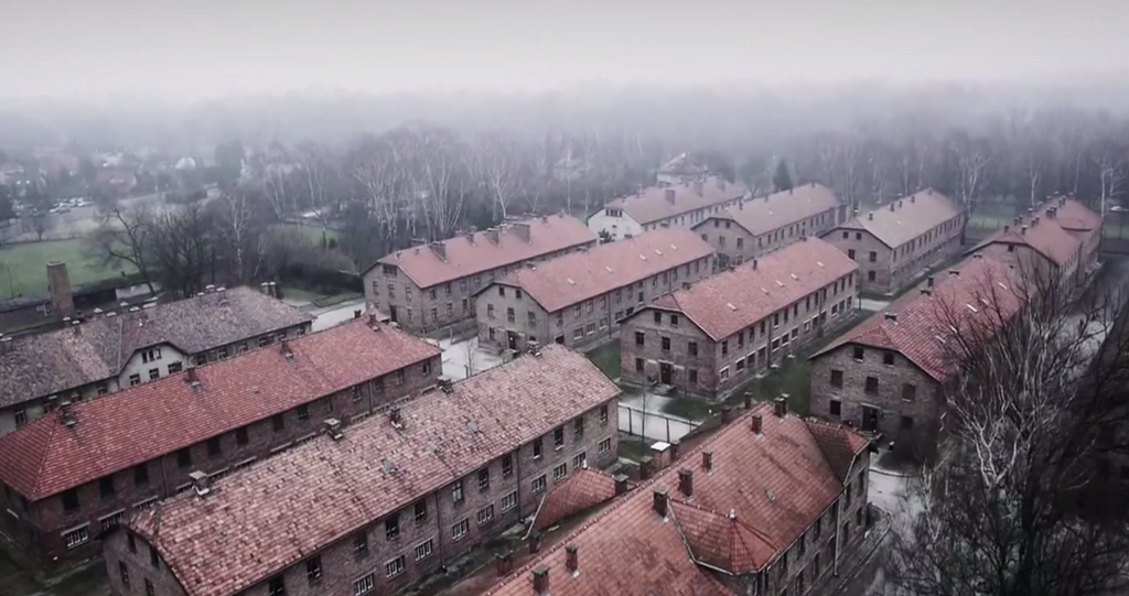 Stunning Drone Video of Nazi Concentration Camp (Auschwitz)