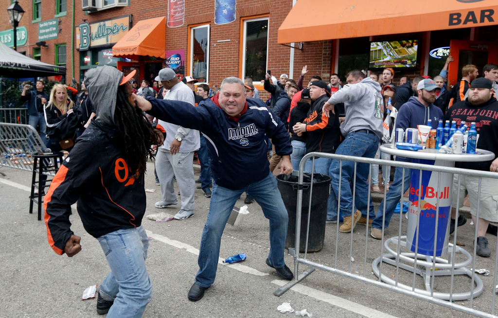 VIDEO: Violent Baltimore Mob Viciously Attacks Innoncent Bystanders