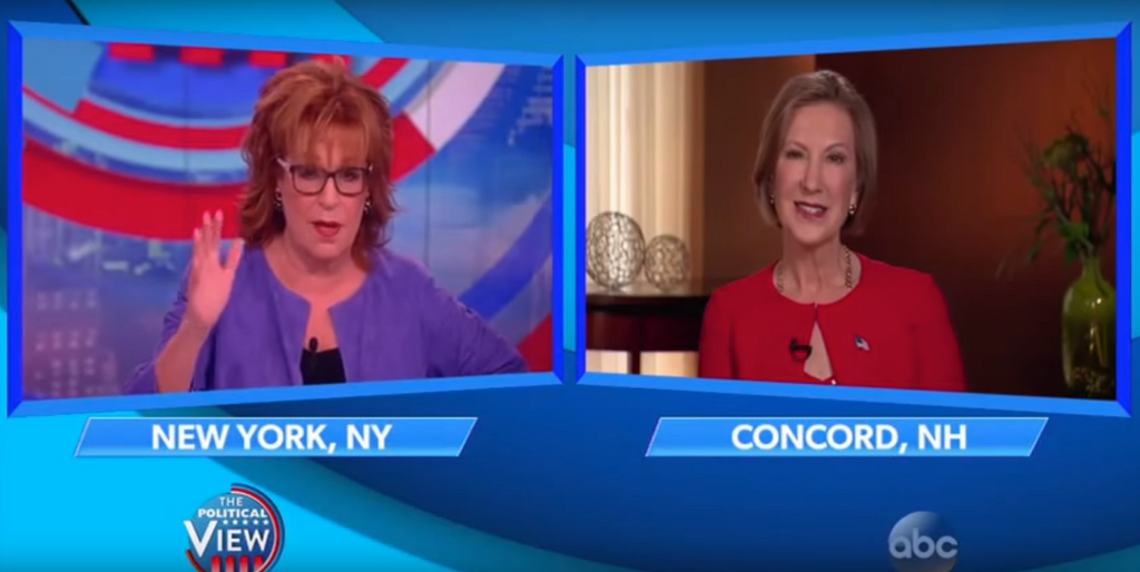 VIDEO: Carly Fiorina vs The View