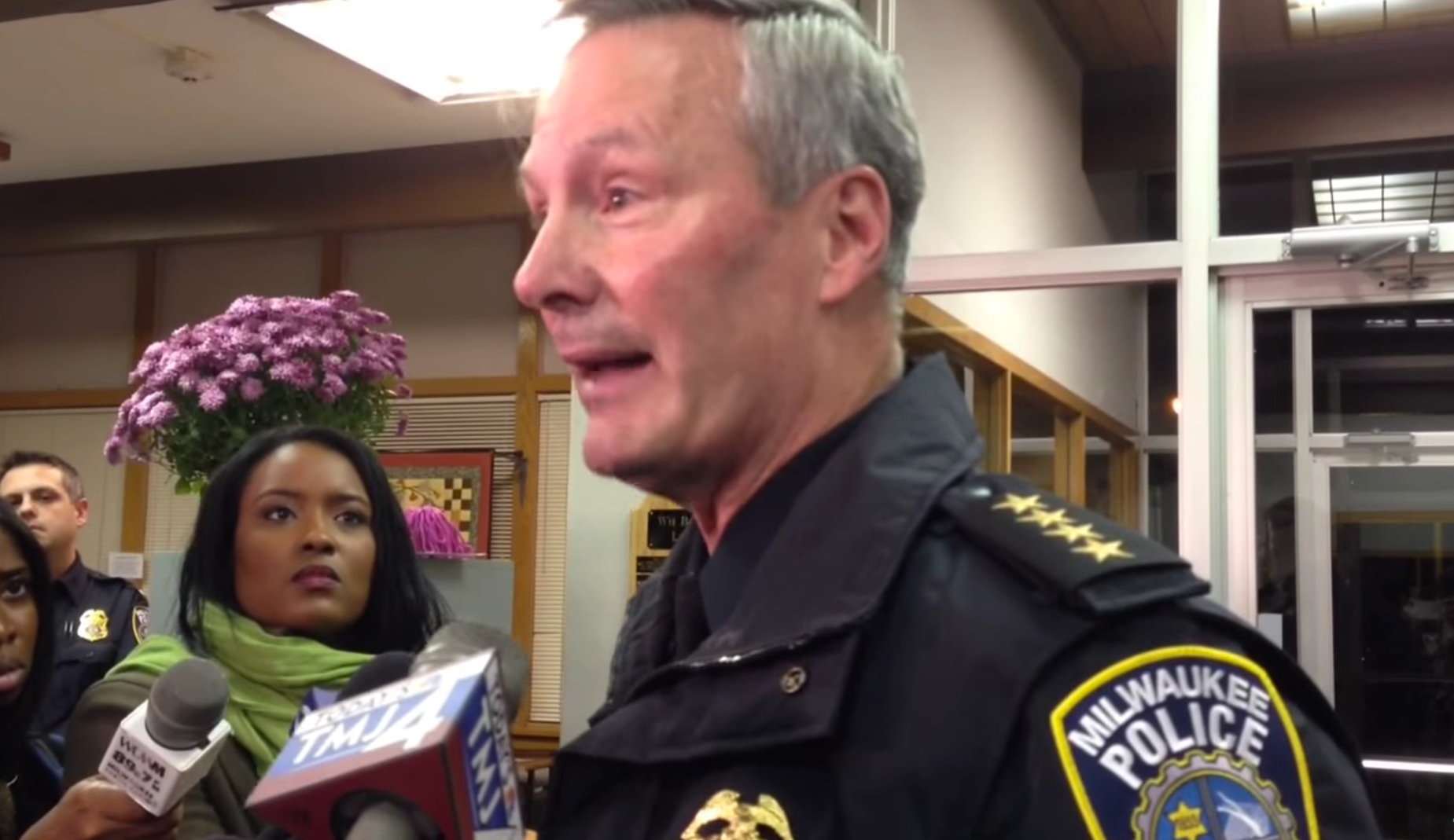 VIDEO: White Police Chief Loses It on Camera Talking About Black Crime