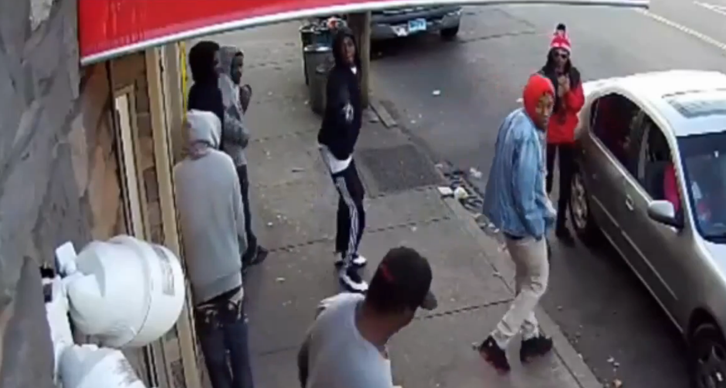 VIDEO: New York Man Shot In Front of Security Camera in Broad Daylight