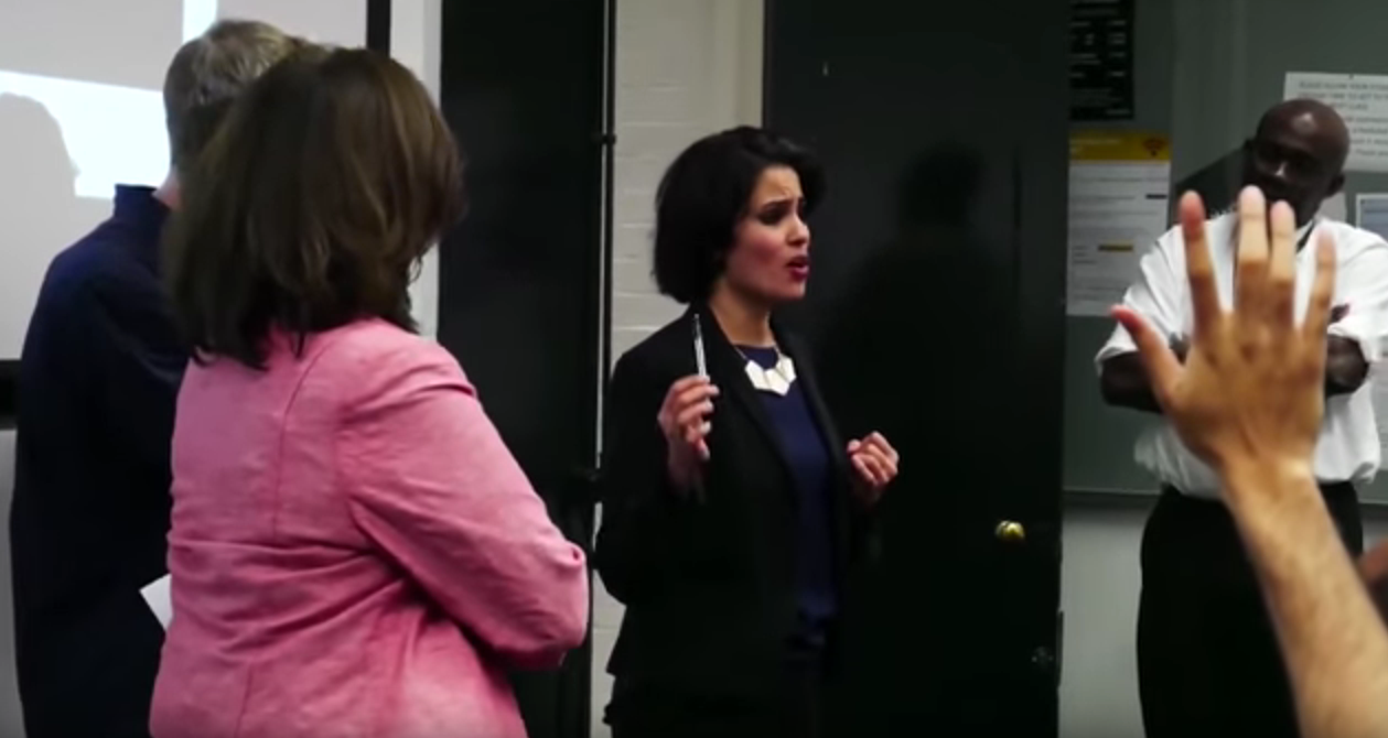 VIDEO: Islamic Thugs Intimidate Female Ex-Islam Speaker at University