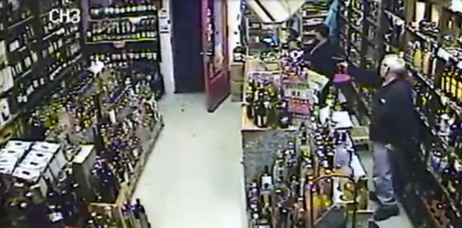 VIDEO: Store Owner Pulls Gun On Armed Robber in Bridgeport, CT