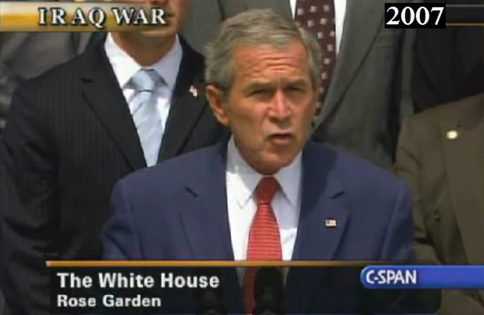 "George W. Bush predicted ""ISIS"" in this VIDEO from 2007"