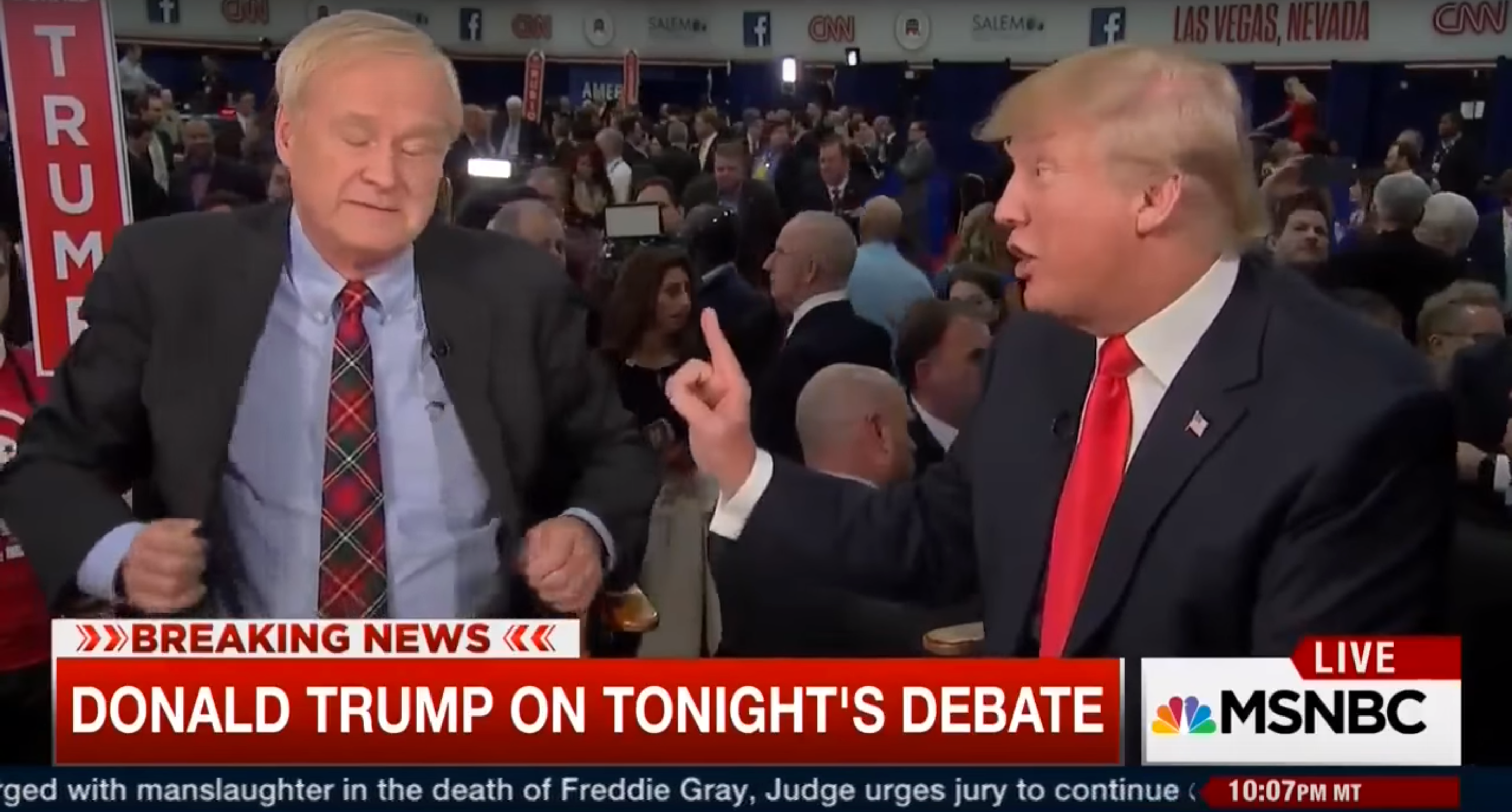Chris Matthews is upset Trump won't address Obama's birth certificate