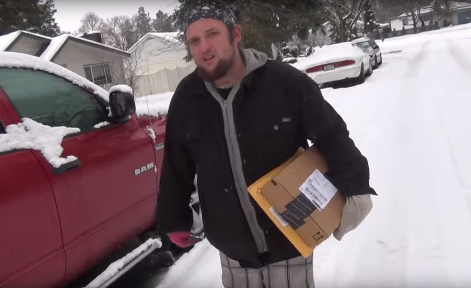 How to handle a package thief stealing amazon Christmas presents