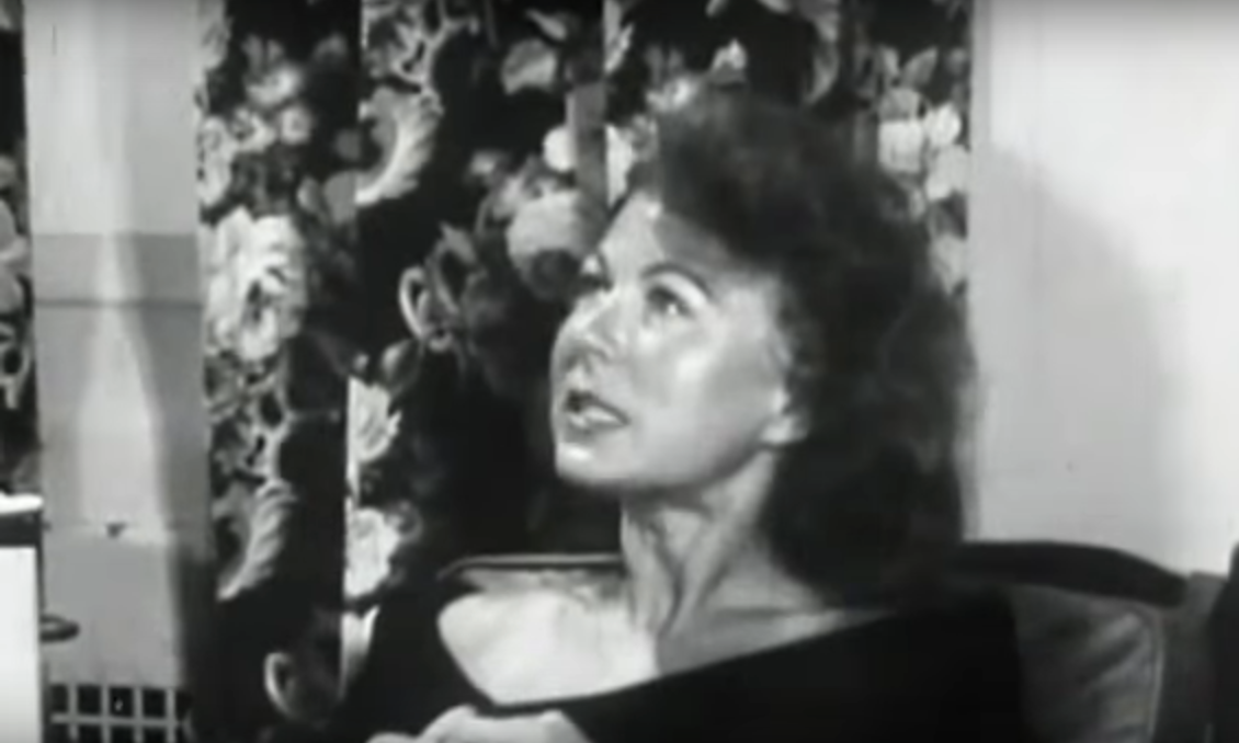 Rare video footage of a 1950's housewife on LSD
