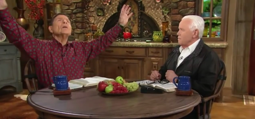 Televangelists Defending Their Private Jets (Video)