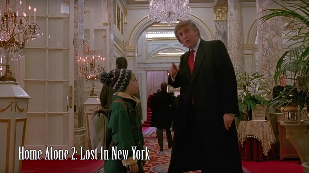 Every single Donald Trump film and tv cameo home alone
