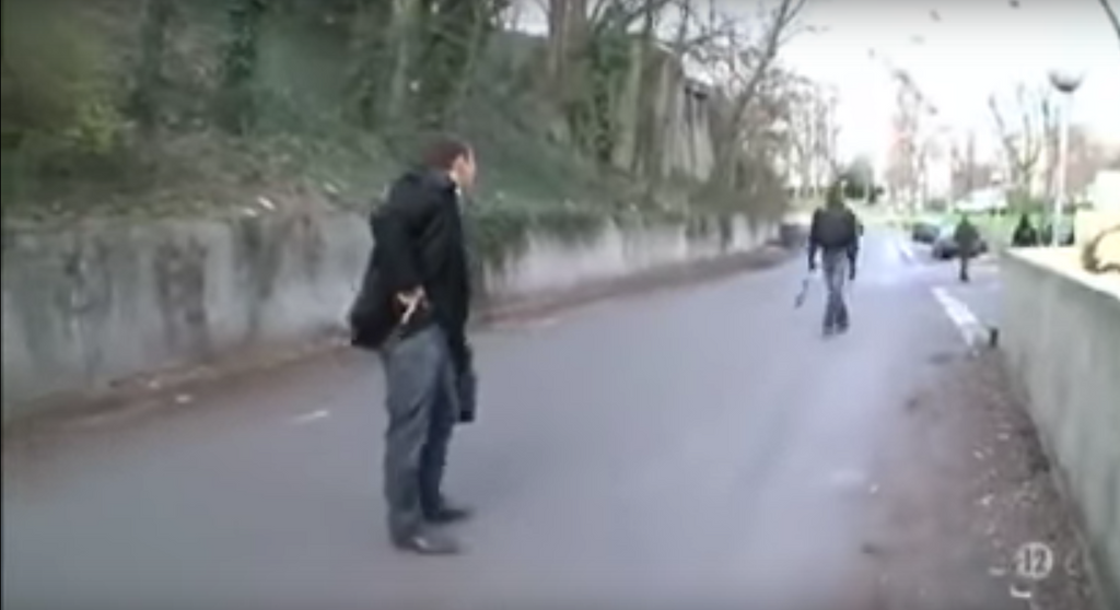 Video: Muslim Refugees Attack Frenchman, But He Has a Surprise...