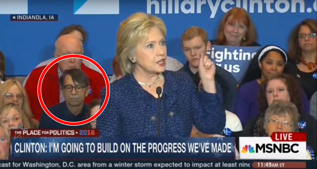Watch Hillary Clinton put a man to sleep in Iowa (Video)