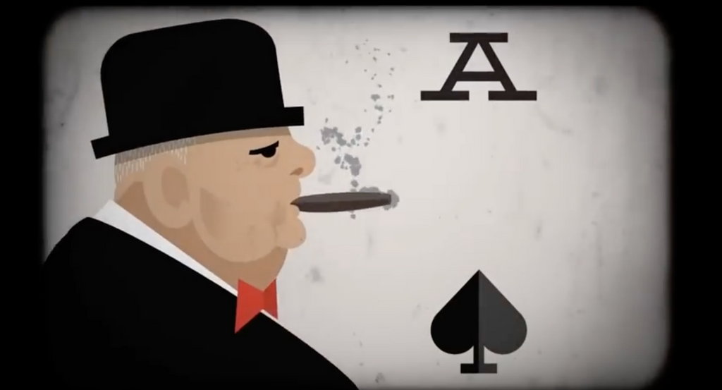 Did Donald Rumsfeld make a Winston Churchill solitaire iPhone app?
