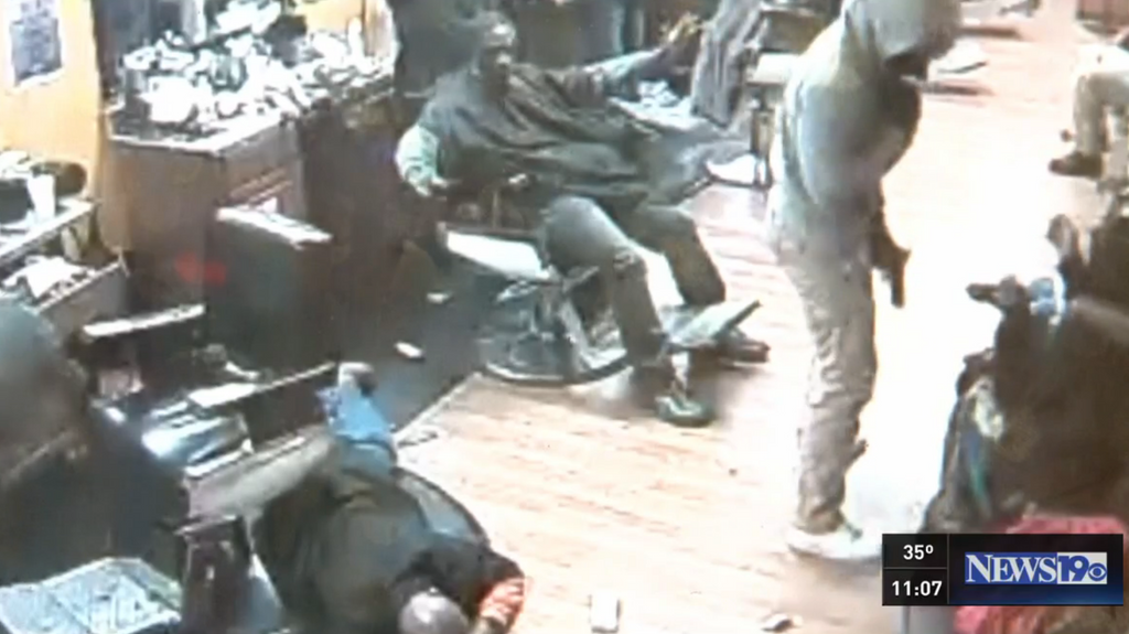 Two robbers didn't expect to find gun owners in this Barber Shop