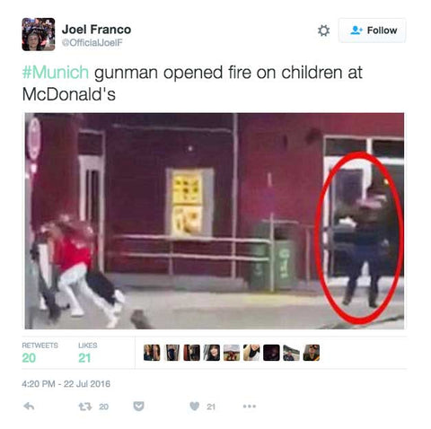 Terrorist Shooter Lured Kids To Their Death By Offering Free McDonald's Food On Facebook