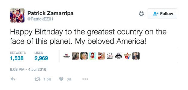 The Last Tweet From Slain Dallas Police Officer Patrick Zamarripa Might Bring A Tear To Your Eye