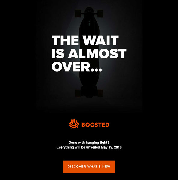 The New Boasted Board Will Be Unveiled May 19, 2016