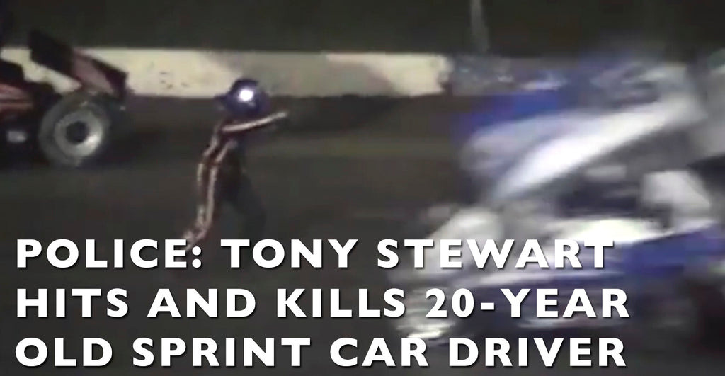 VIDEO: NASCAR's Tony Stewart Kills 20 Year Old Sprint Car Driver