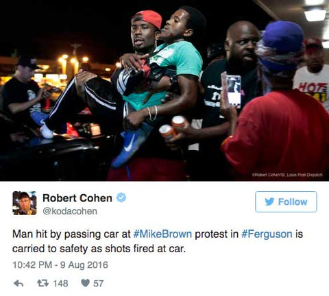 VIDEO: Black Lives Matter Protester Run Over After Trying To Block Traffic