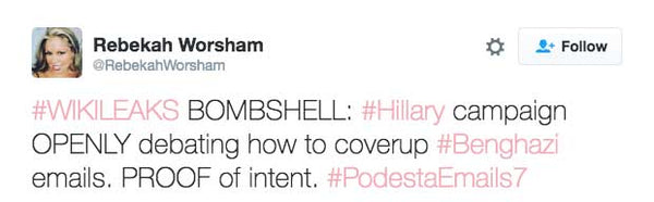 #WIKILEAKS BOMBSHELL: #Hillary campaign OPENLY debating how to coverup #Benghazi emails. PROOF of intent. #PodestaEmails7