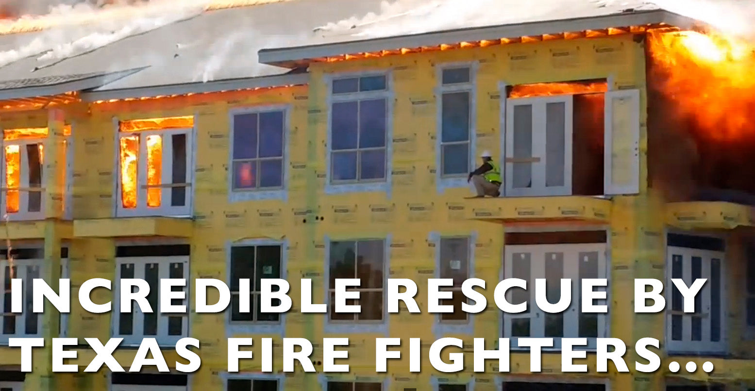 VIDEO: Incredible Rescue By Texas Fire Fighters...