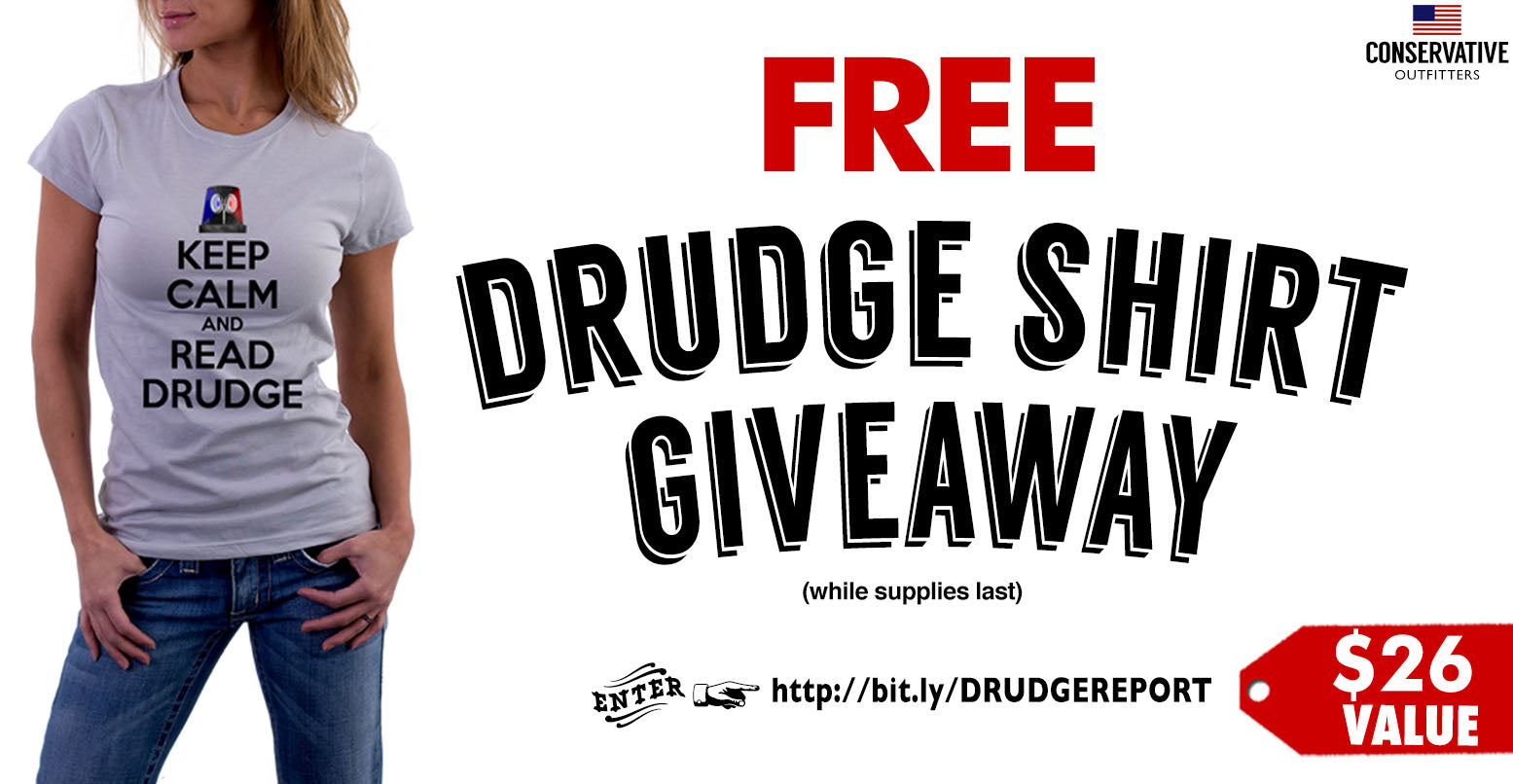 FREE Drudge Report Shirts