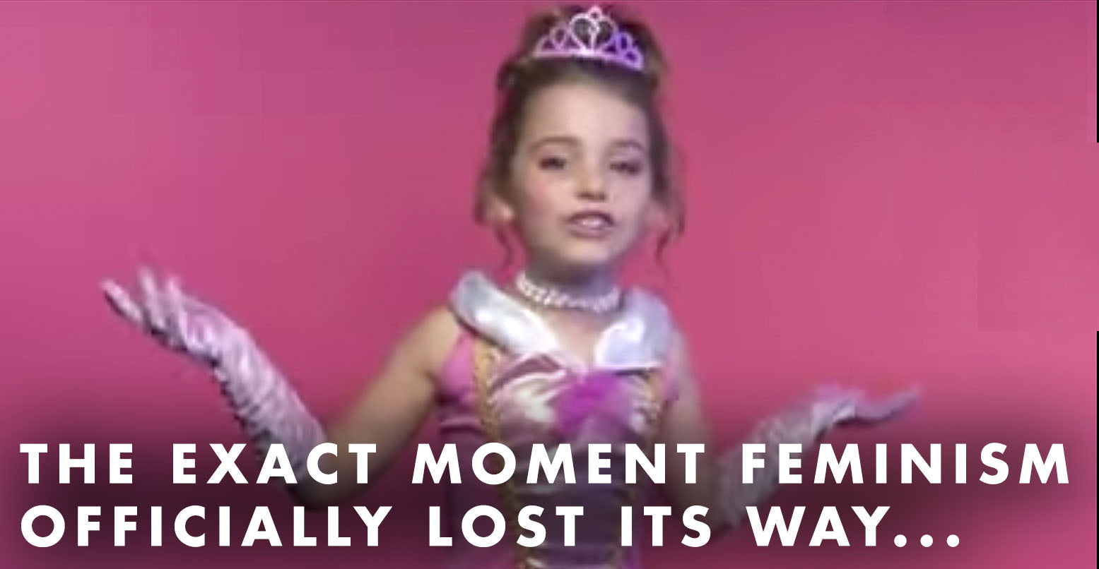 VIDEO: The exact moment feminism officially lost its way