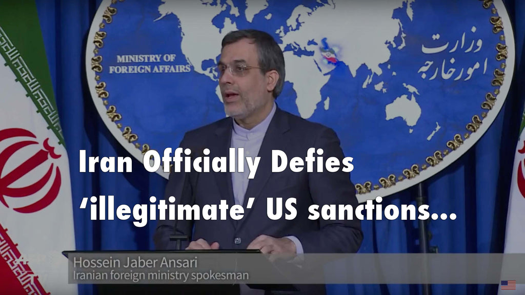 Iran officially condemns President Obama's 'illegitimate' US sanctions