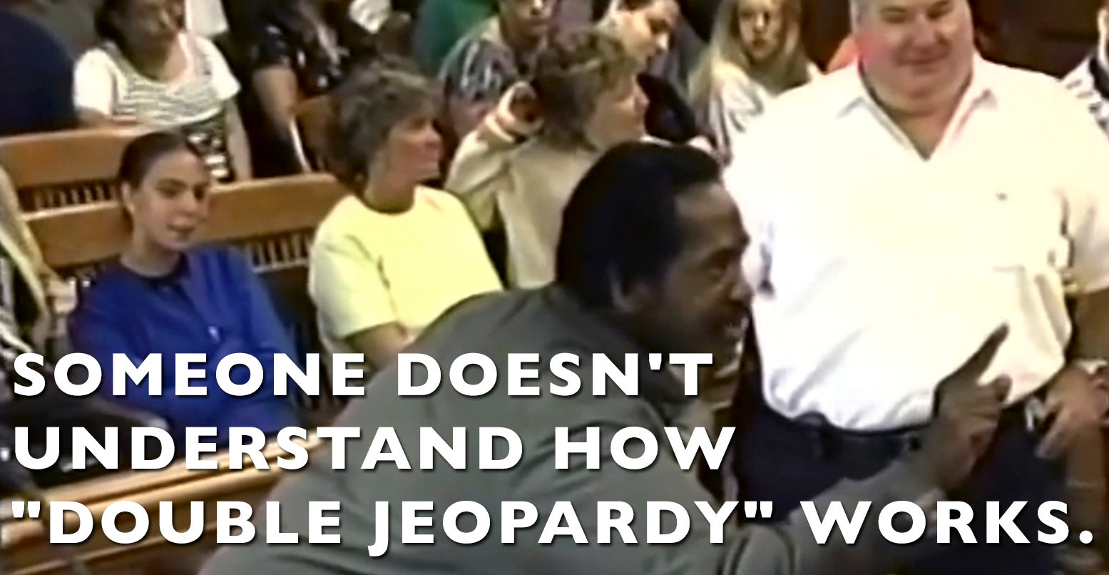 "VIDEO: Someone doesn't understand how ""Double Jeopardy"" works."