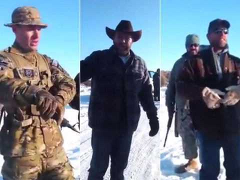 VIDEO: Ted Cruz tells armed Oregon protestors to 'STAND DOWN'...