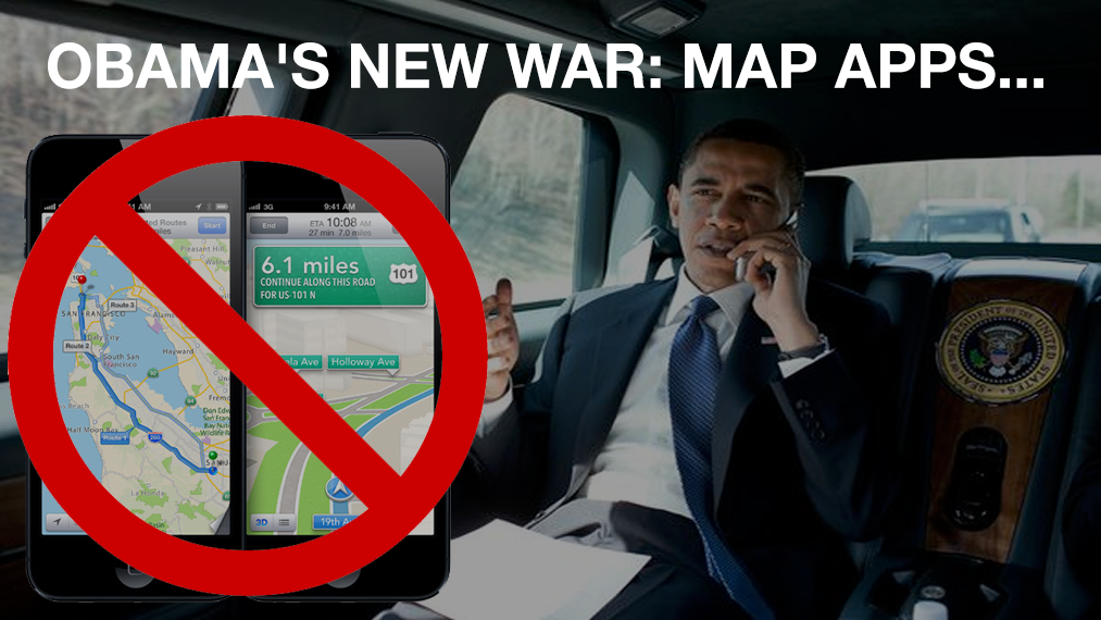 OBAMA'S NEW WAR: MAP APPS