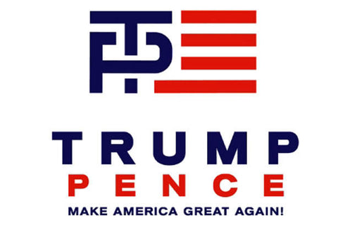 Official Trump Pence 2016 Logo