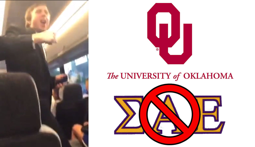 VIDEO: University of Oklahoma Sigma Alpha Epsilon Singing Racist Chant