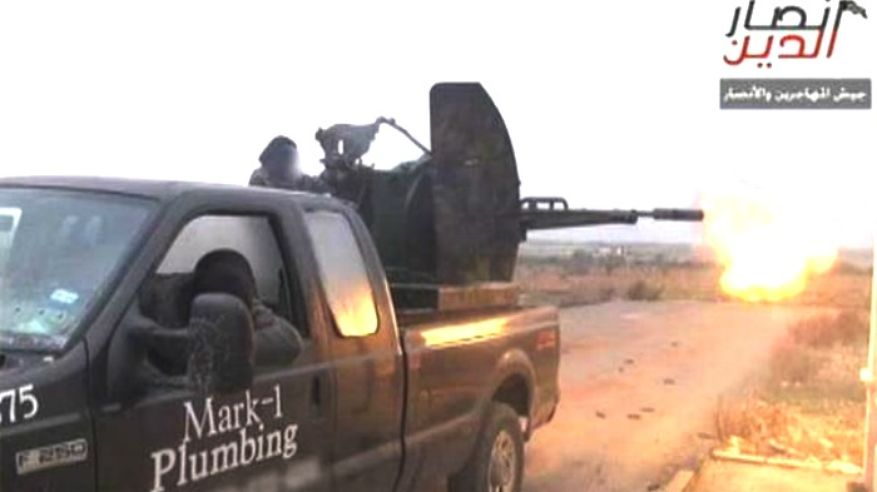 VIDEO: How Did A Plumber's Truck From Texas End Up In The Syrian War?