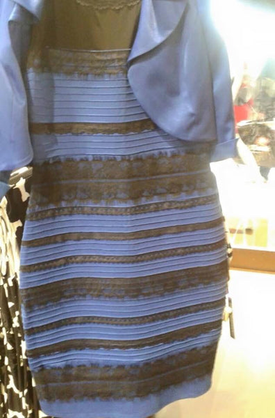 What Color Is This Dress... White and Gold or Black and Blue?