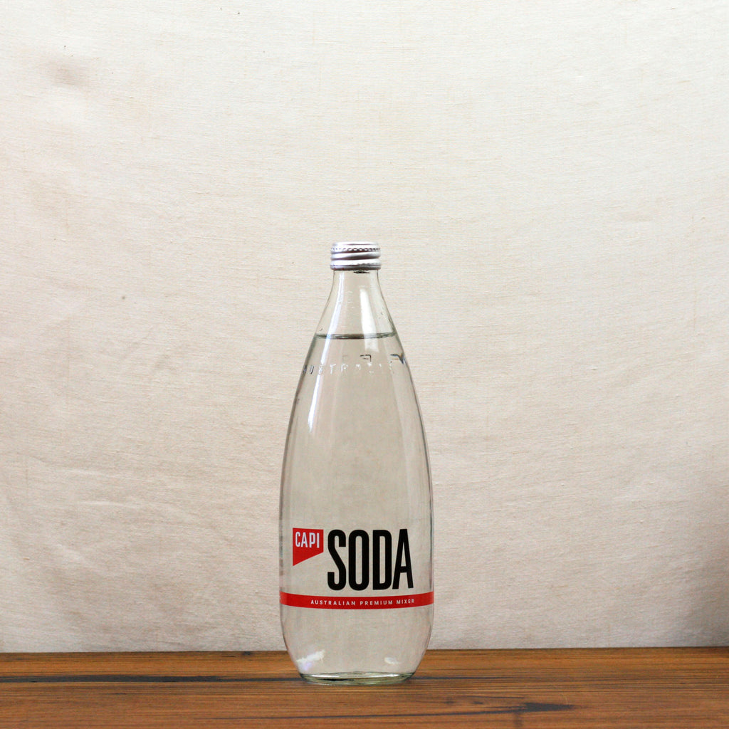 Capi Soda Water 750ml